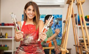 50% Off One Month of Art Classes