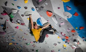 Adult Day Pass at Momentum Climbing in Lehi ($20 Value)
