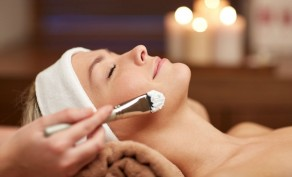 Day at the Spa with Back Facial, Facial, Eye Treatment, Facial Waxing, Manicure & Pedicure ($130 Value)